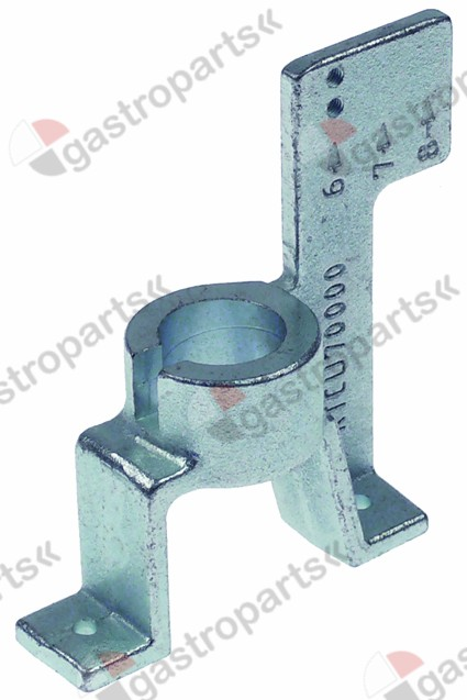 104.075, burner holder for burner cap ø 70mm 2 x thread M5 Pos. n° 6