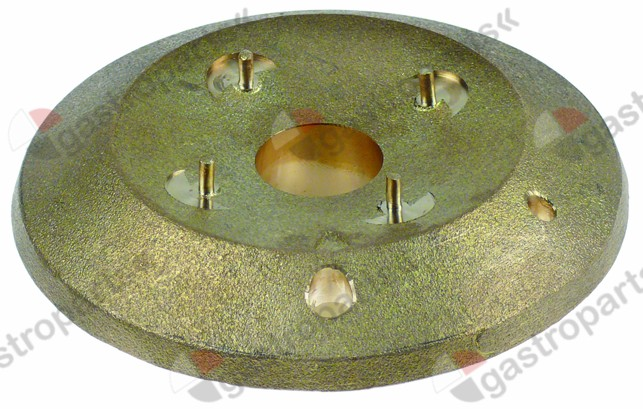 104.100, burner head for burner cap ø 80mm