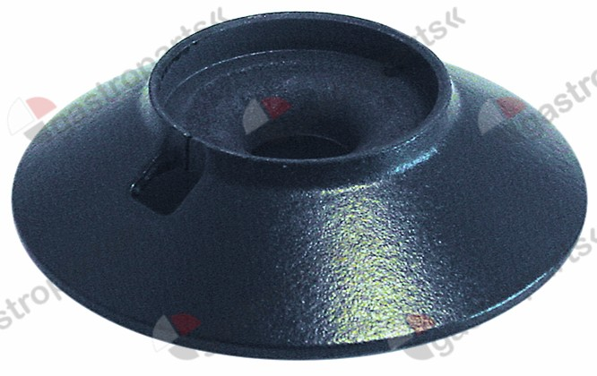 105.265, burner head for burner cap ø 80mm