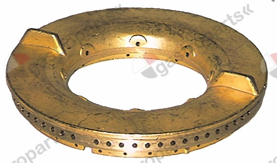 105.287, burner cap E ø 125mm 7kW with central hole