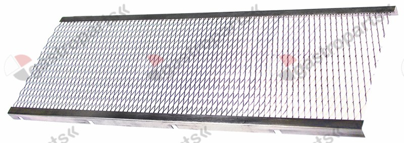 105.590, burner grid L 670mm W 230mm for gyro grill