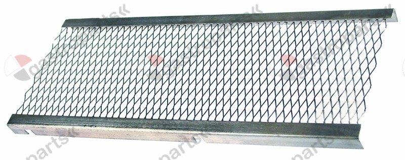 105.593, burner grid L 670mm W 230mm for gyro grill