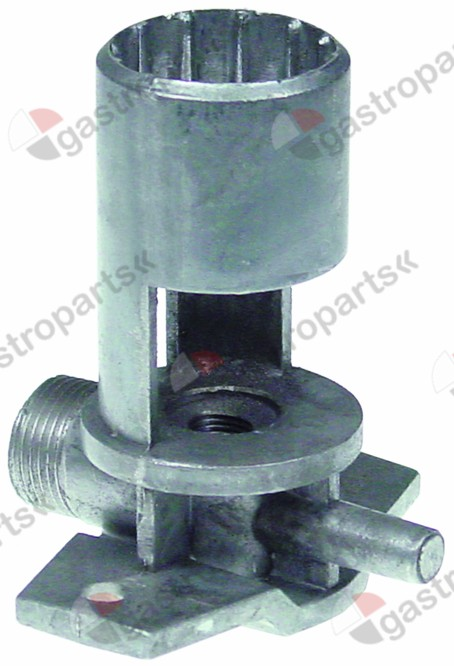 105.710, burner holder with nozzle holder
