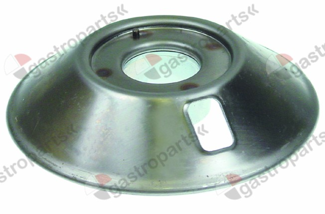 105.751, burner head for burner cap o 80mm 7kW