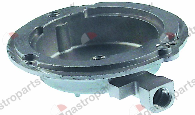 105.780, burner lower part for burner cap o 92 mm 3,5 kW