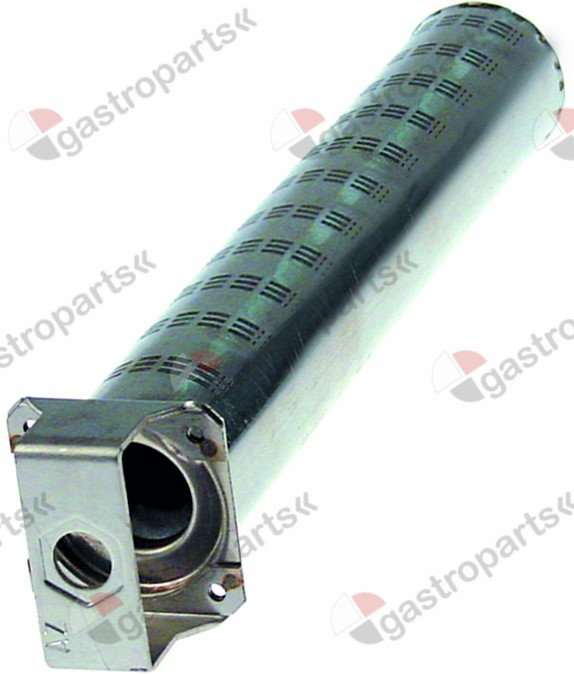 105.784, bar burner ø 50mm L 300mm flange width 57mm flange length 57mm convection oven