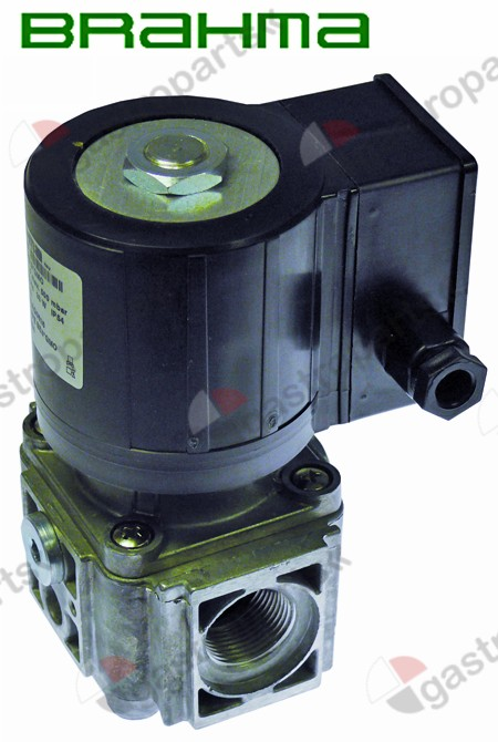 106.069, solenoid valve 230V DN 25mm connection 3  L 96mm