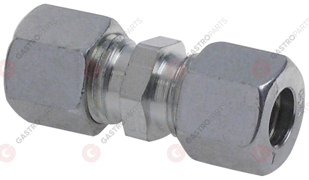 106.449, screw pipe connection gas chrome-plated