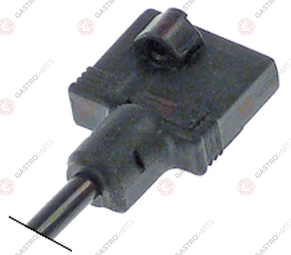 107.222, plug for solenoid valve 3-pole cable length 1070m