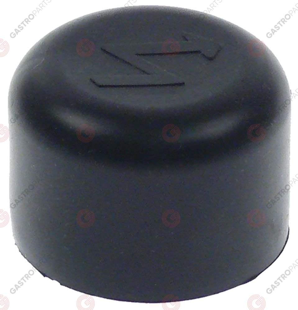 107.931, Cover cap for piezoelectric igniter ID o 21mm ED o 36mm