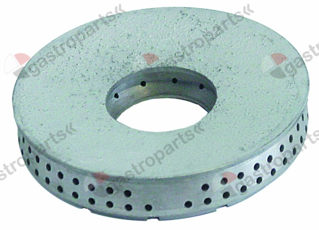 109.002, burner cap ø 120mm 9,3kW with central hole