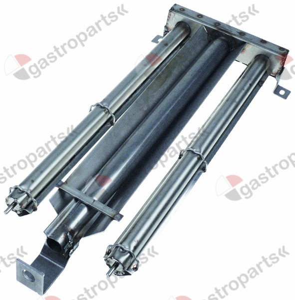 109.020, Replaced by 109099 / 691853 / bar burner 2 row L 530mm W 200mm H 45mm chargrill