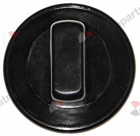 110.078, knob without symbol ø 70mm shaft ø 6x4.6mm
