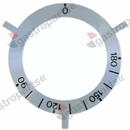 110.611, No longer available / knob dial plate thermostat t.max. 180°C 90-180°C
