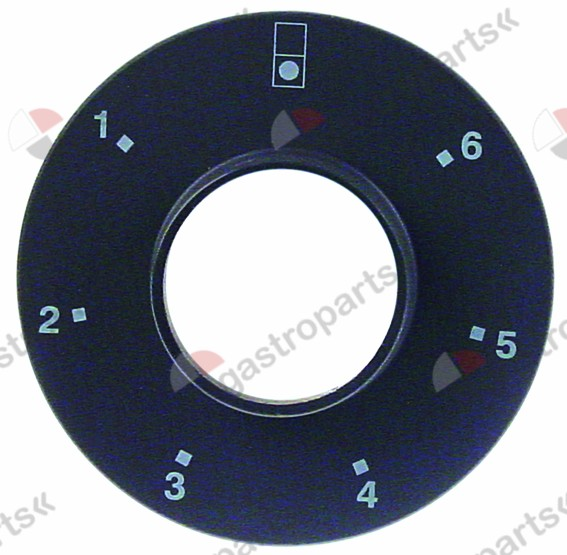 111.605, bezel switch 7-position for front hob