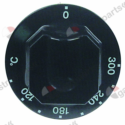 111.671, knob thermostat t.max. 300°C temperature range 110-200°C ø 70mm shaft ø 6x4.6mm