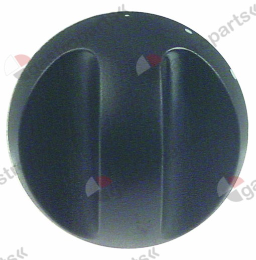 111.704, knob connection 10x8 ø 70mm water cold (1/2 turn) shaft ø 10x8mm shaft flat upper