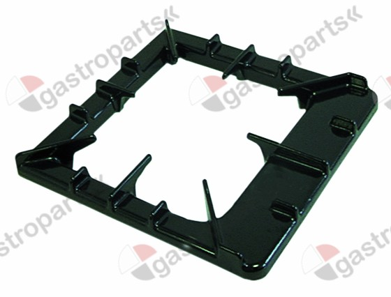 210.162, pan support W 392mm L 385mm H 50mm mounting pos. lateral