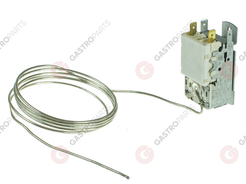 23591, THERMOSTAT -22°C/-3°C BREMA CAPILLARY 2250mm- 3 CONNECTORS (K22 L1082)