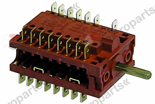300.065, operation switch 4 operating positions power/ program shaft ø 6x4.6mm