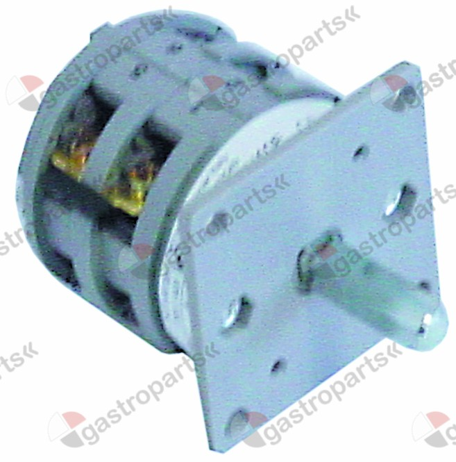 301.193, rotary switch 3 1-0-2 sets of contacts 3 400V 16A shaft ø 6x6mm shaft L 25mm connection screw
