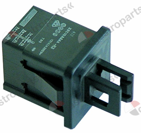 345.127, No longer available / microswitch with plunger 250V 12A 3NOconnection male faston 4.8mm