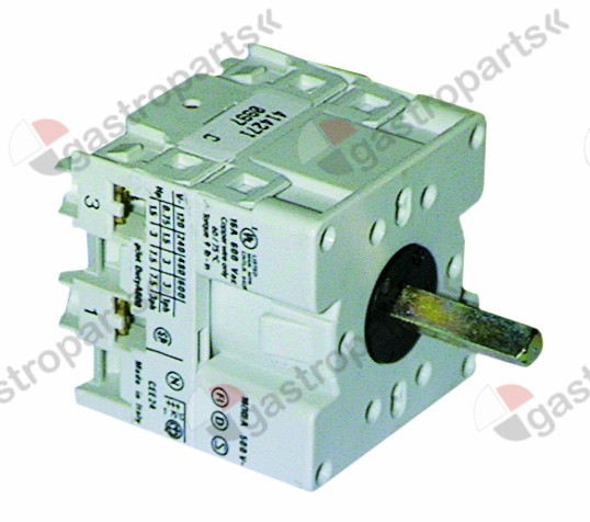 345.165, Replaced by 347055 / rotary switch 16A 2-pole