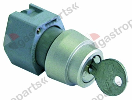 345.244, key lock switch ø 22mm latching sequence 0-1