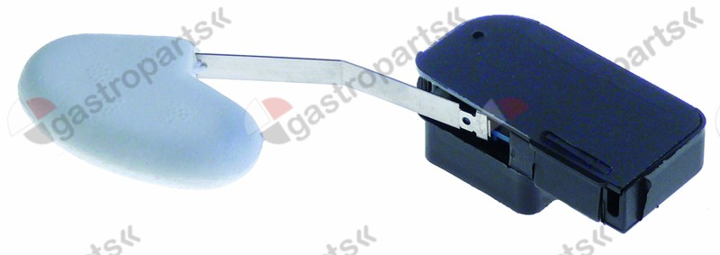 345.365, float switch 250V 16A 1CO male faston 6.3mm L 150mm ambient temperature max. 125°C