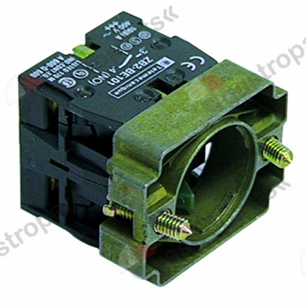 345.412, contact block with holder 1NO