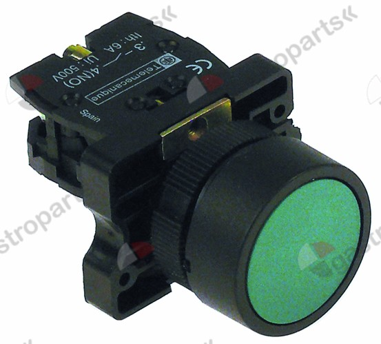 345.435, momentary push switch mounting o 22mm 1NO