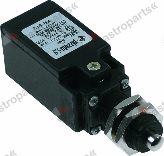345.488, position switch plastic 1NC/1NO 400V 3A L 92mm W 31mm H 31mm protection IP67