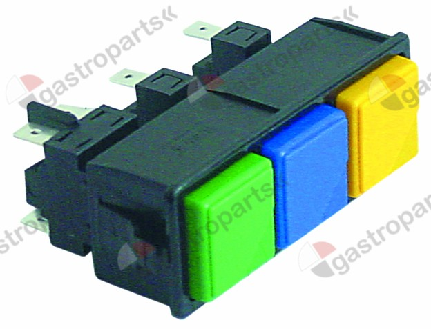 345.556, switch combination latching/momentary mounting measurements 28.5x77.5mm