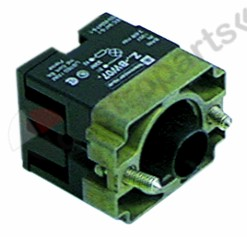 345.567, No longer available / lamp socket with series resistor