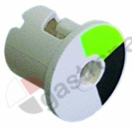 345.608, rotary disc green/black disc ø 20,6mm