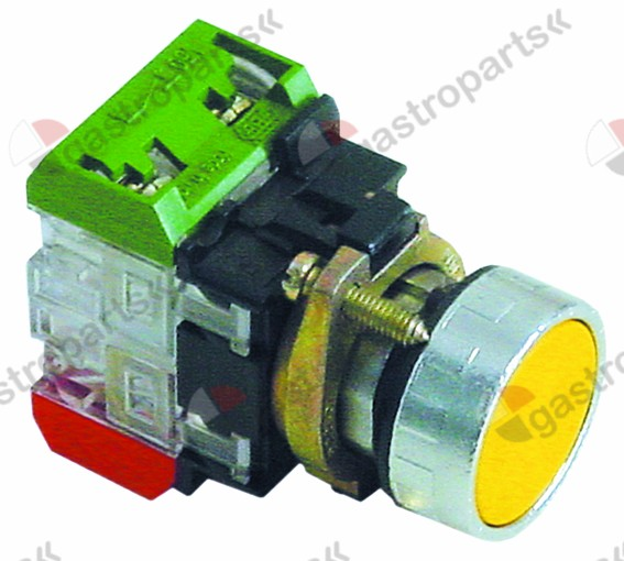 345.771, Replaced by 346677 / 346189 / momentary push switch yellow 1NC/1NO