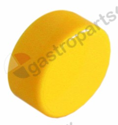 345.834, push button ø 23mm yellow