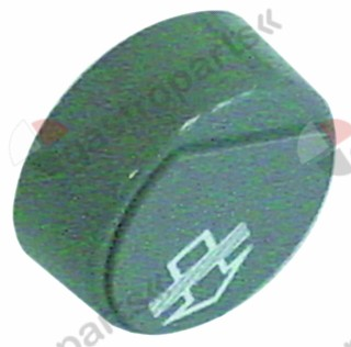 345.849, push button ø 23mm grey regeneration