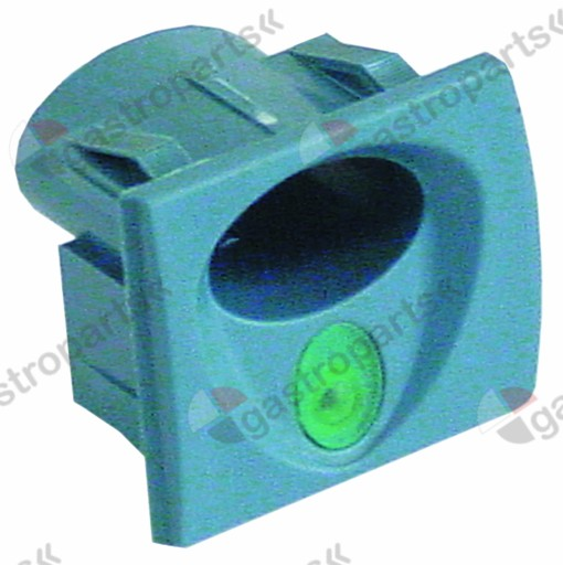 345.898, element holder blue-grey mounting pos. right illuminable