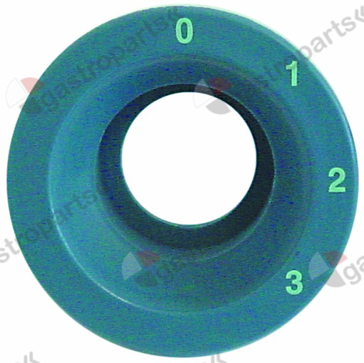 345.911, element holder blue-grey format round 0-3