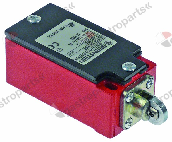 345.921, position switch with roller 1CO 240V 3A L 93mm W 36mm H 33mm protection IP65