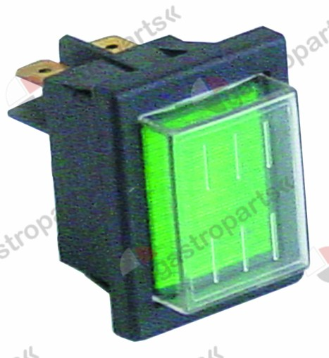 345.985, Replaced by 359157 / 301036 / indicator light mounting measurements 30x22mm 230Vgreen