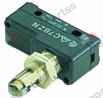 346.055, Replaced by 346370 / microswitch with roller plunger 250V 16A 1COconnection screw ambient temperature max. 85°C