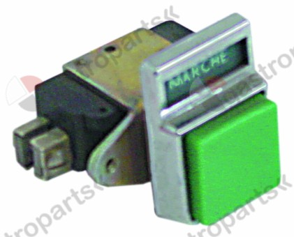 346.092, No longer available / momentary push switch green 2 hole fixing