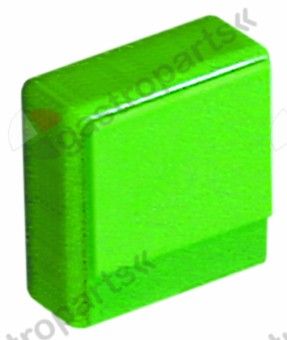 346.213, push button size 23x23mm green