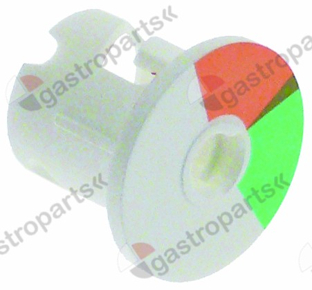 346.251, rotary disc orange/green disc ø 20,6mm