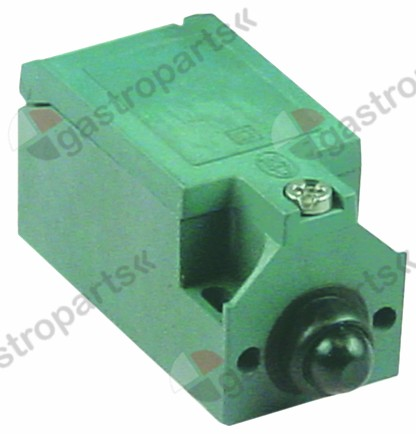 346.283, position switch cast aluminum 1NO/1NC 230V 3A L 75mm W 31mm H 33mm protection IP66
