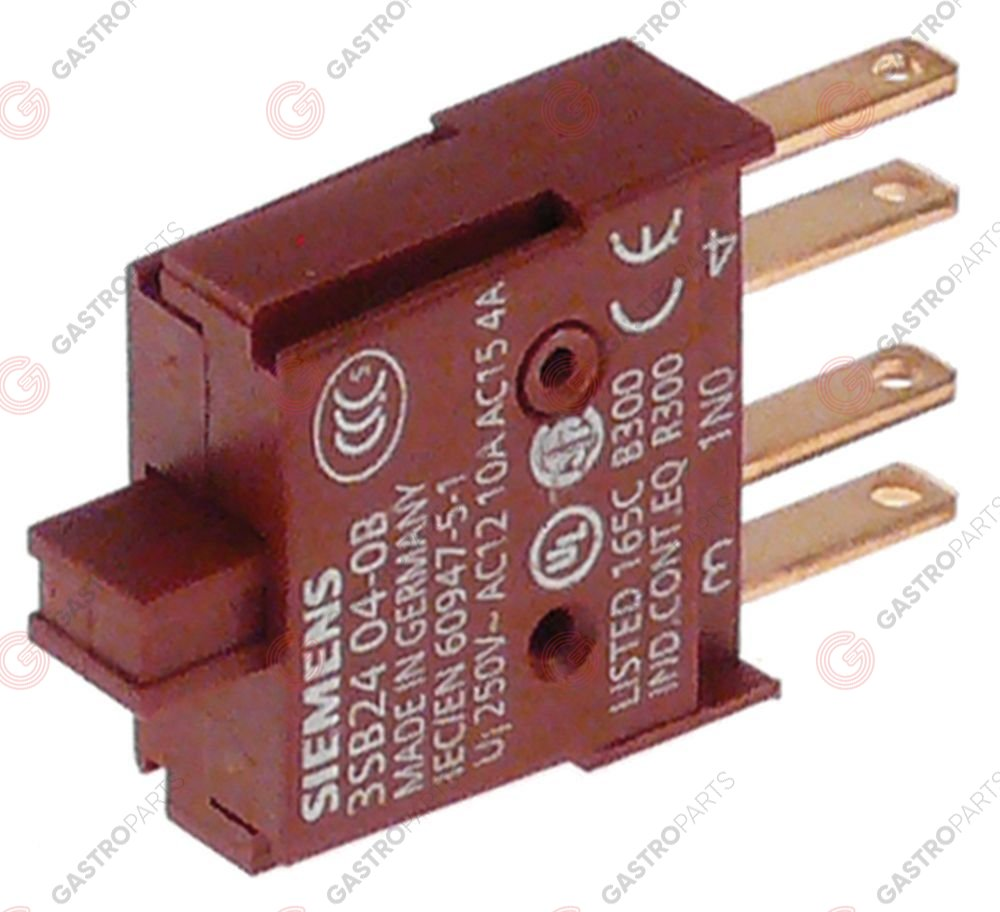 346.354, contact block SIEMENS 1NO 3SB2404-0B brown