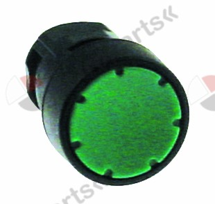 346.356, push button green ø 16mm