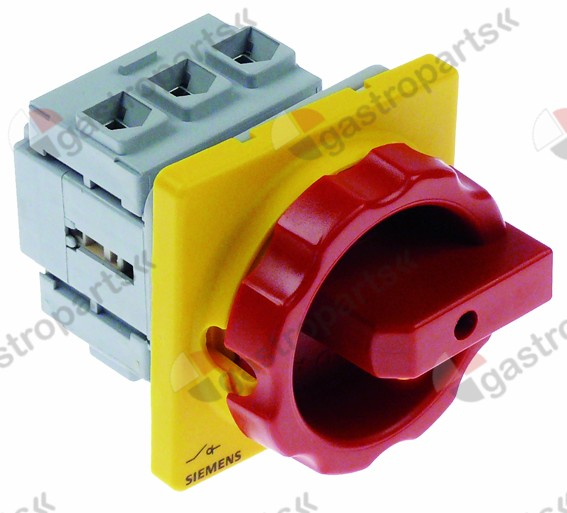 346.379, rotary switch 2 0-1 3 type  600V 32A shaft o 5x5m